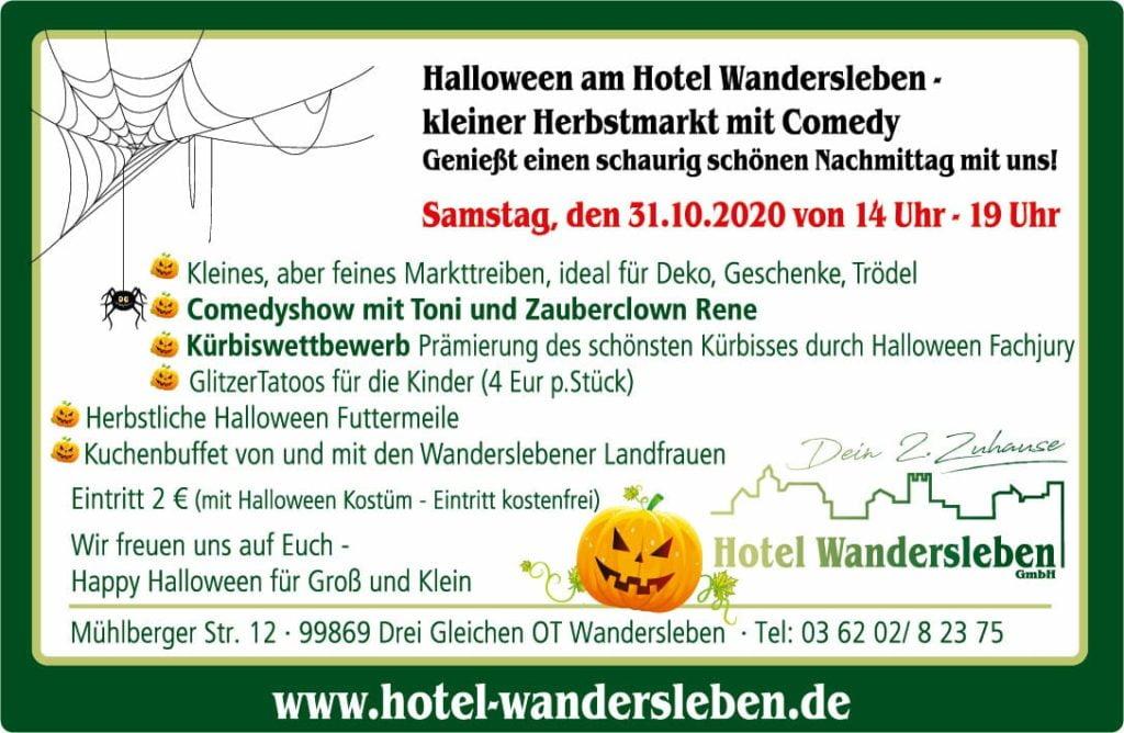 Helloween in Wandersleben_Anzeige