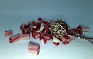 Rosenwasser Himbeer Joghurt Bonbons