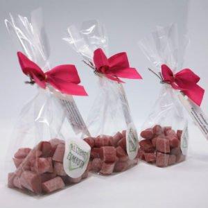 Himbeer Rosenwasser Bonbons