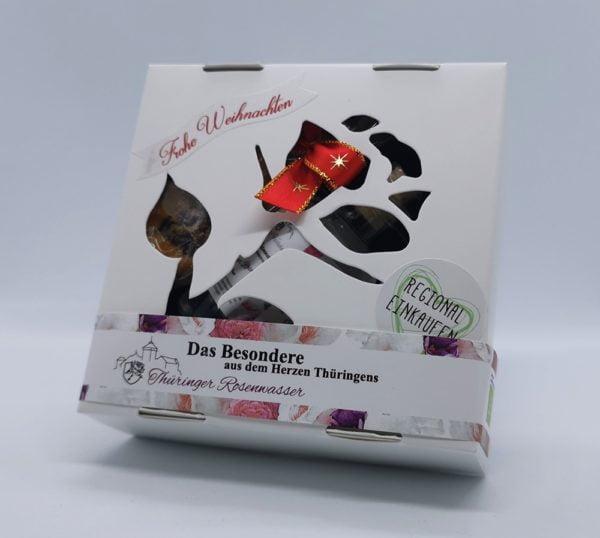 Geschenkbox mit Rosenwasser