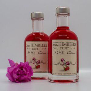 Himbeer Rosenlikör 0,2l