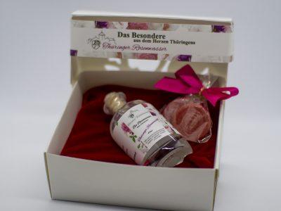 Geschenkbox Rosenwasser